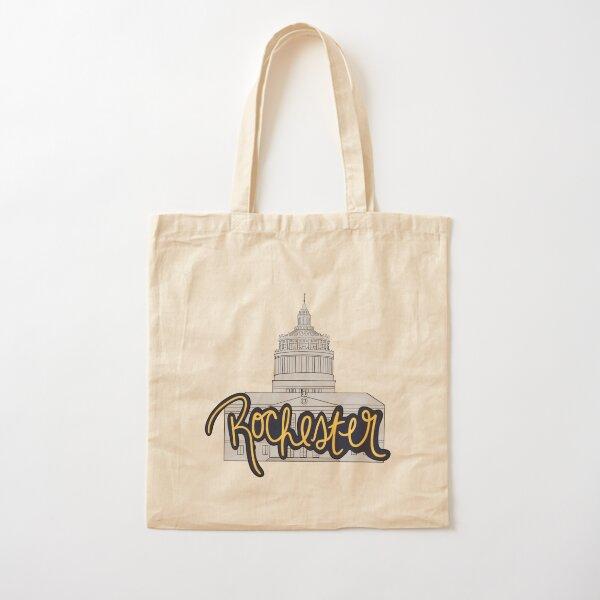 Rush Rhees Rochester Cotton Tote Bag