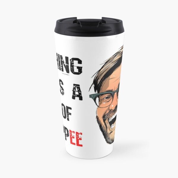 Nothing beats a cup of Kloppee Travel Mug