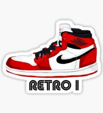 Jordan Retro I Sticker