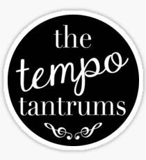 Tempo Tantrums Logo  Sticker