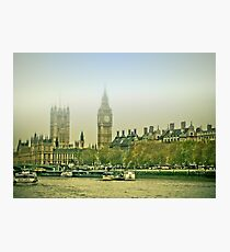 Foggy Westminster Photographic Print