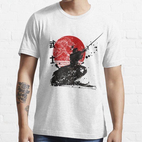Samurai The Ghost Design de T-shirt classique T-shirt essentiel