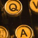 Typewriter Keys by printscapes