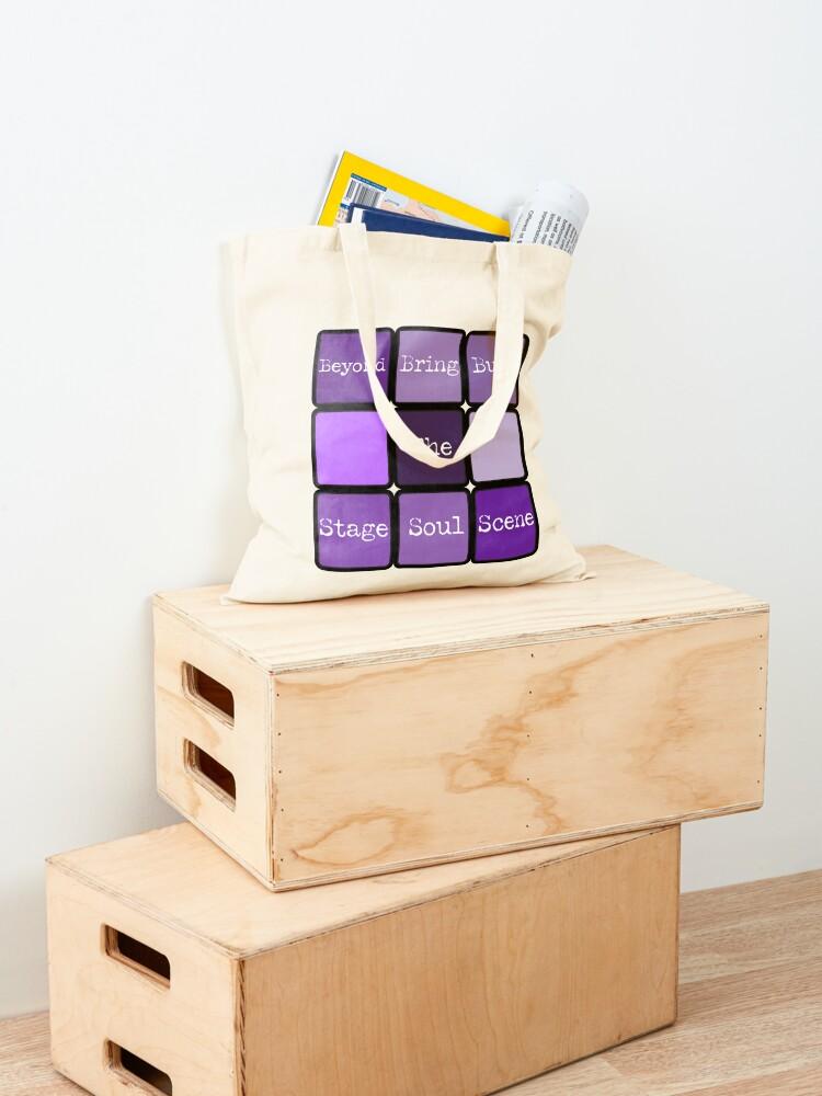 Alternate view of BTS Cube Tote Bag