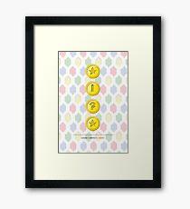 gamer currency 3 Framed Print