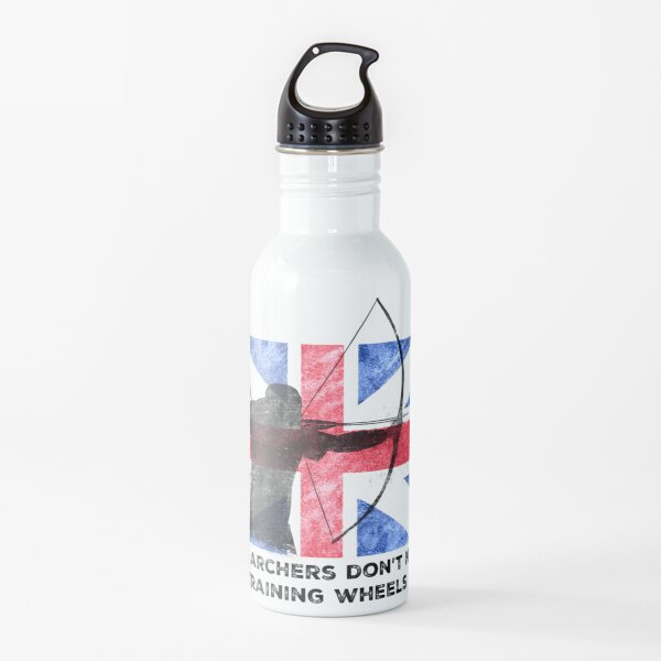 Tiro con arco tradicional Union Jack Los arqueros reales no necesitan ruedas de entrenamiento Botella de agua