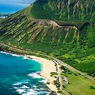 Koko Crater and Sandy Beach Park, Oahu by printscapes