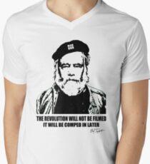 MadGod Revolution in WhiteBalance Men's V-Neck T-Shirt