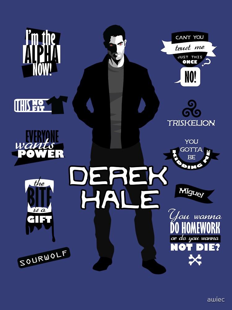 Derek Hale Quotes Teen Wolf | Unisex T-Shirt