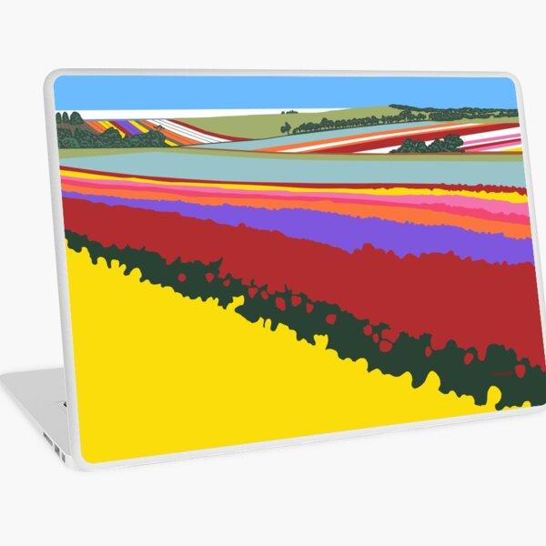 Tulip Fields, Table Cape Laptop Skin