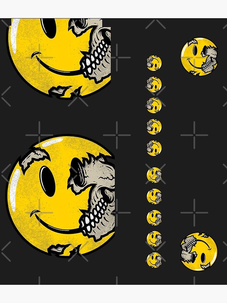 Smiley Face Skull by RevolutionGFX