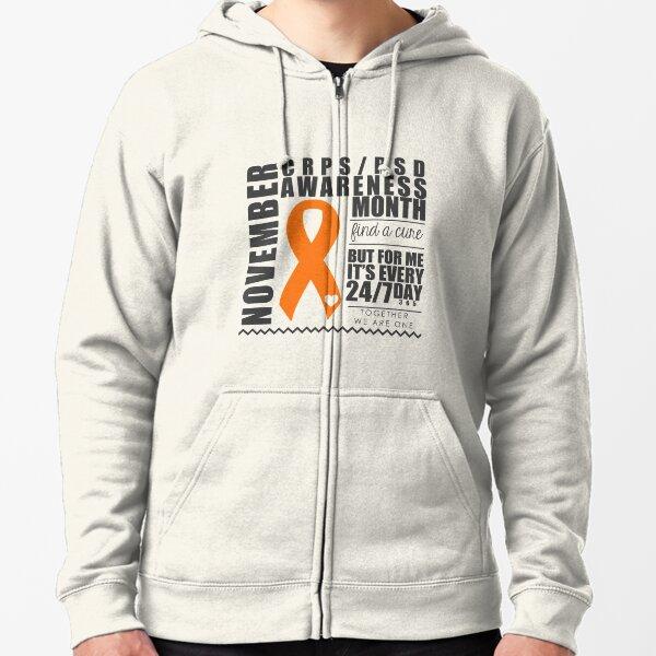 November CRPS Awareness Month Zipped Hoodie