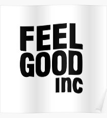 Feel Good Inc Posters   Redbubble