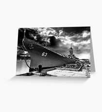 USS Missouri, Pearl Harbor Greeting Card