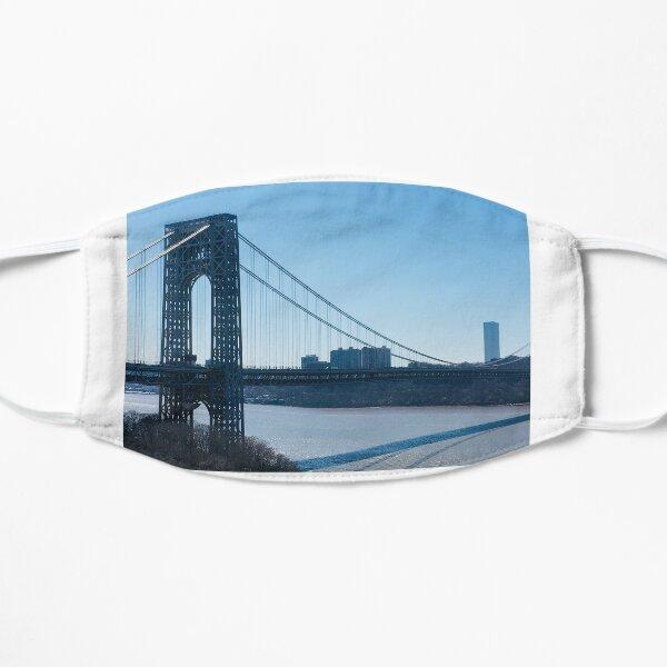 George Washington Bridge over the Hudson Flat Mask