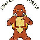 NINJABREAD TURTLE ORANGE by Skree