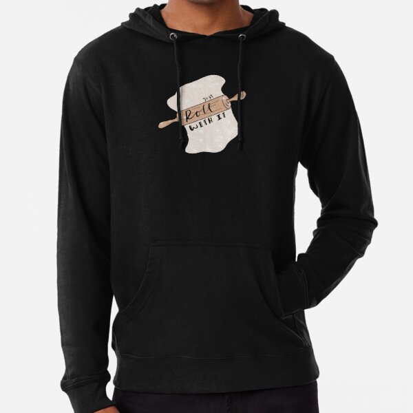 Just Roll With It Lightweight Hoodie