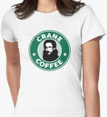 Crane Coffee Womens Fitted T-Shirt