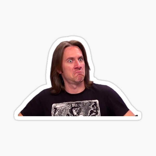 Disgusted Matt Mercer Sticker