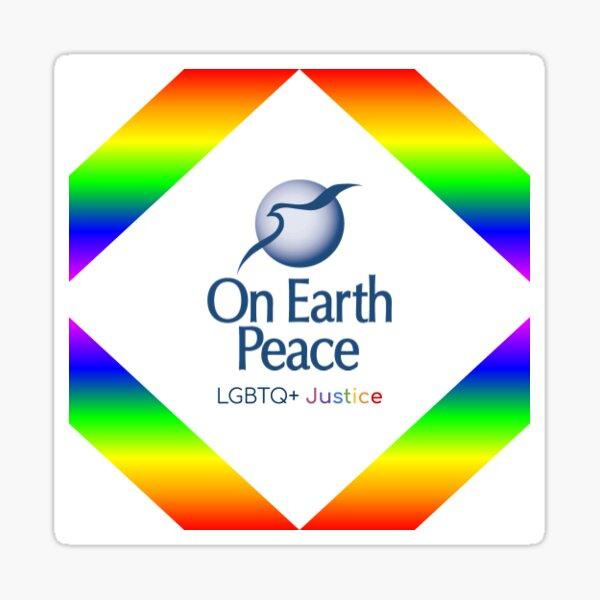 LGBTQ+ Justice Logo Sticker