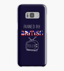 Ruined By British Telly /updated/ Samsung Galaxy Case/Skin