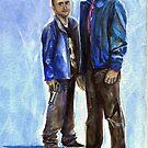 Walt and Jesse by gothscifigirl