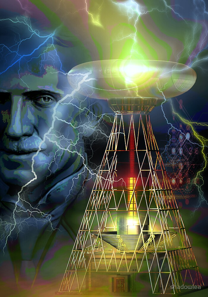 nikola tesla by shadowlea