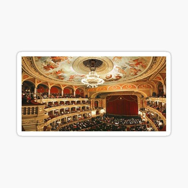 Budapest Opera House Sticker