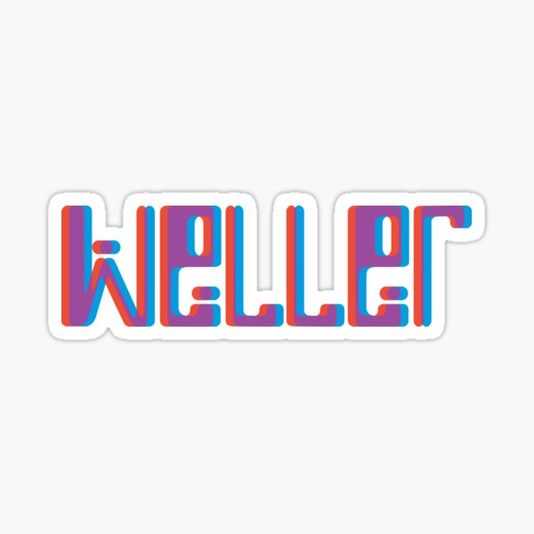 Paul Weller, On Sunset Sticker