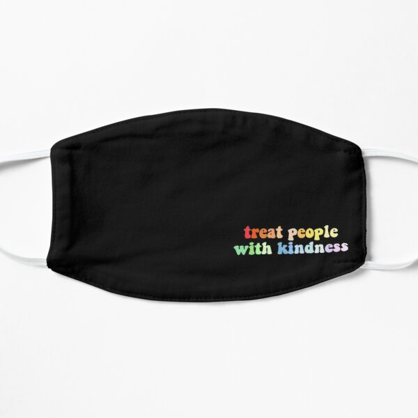 Treat People With Kindness By Harry Styles Aesthetic Mask
