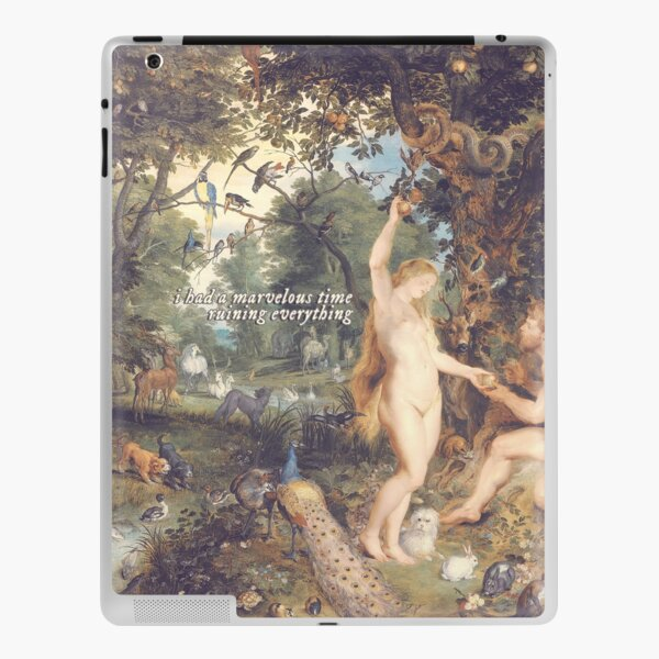 eve had a marvelous time ruining everything iPad Skin