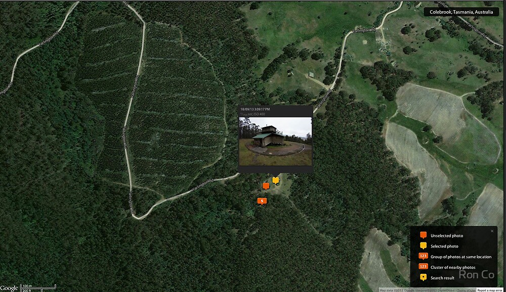 Home view via Google maps by Ron Co
