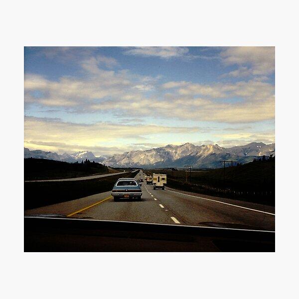 Vintage Road Trip Photographic Print