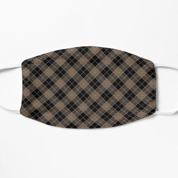 tweedy - black on brown Flat Mask