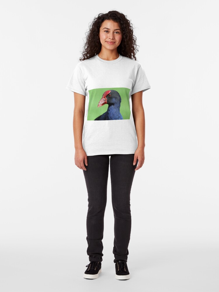 Alternate view of Purple Swamphen Classic T-Shirt