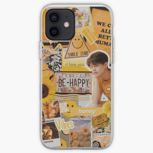 bright vachirawit yellow phonecase  iPhone Soft Case