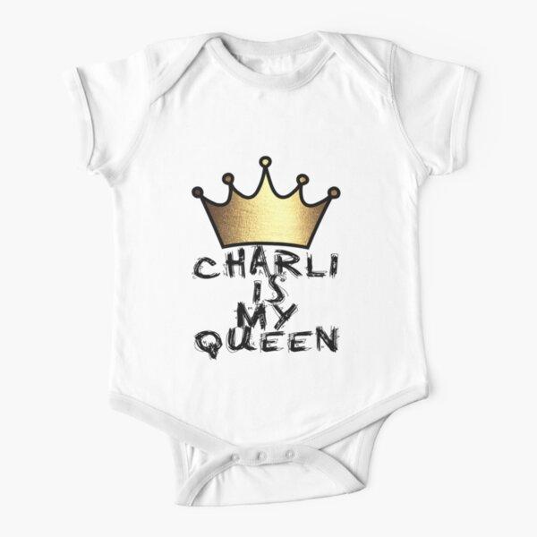 Charli est ma reine Body manches courtes
