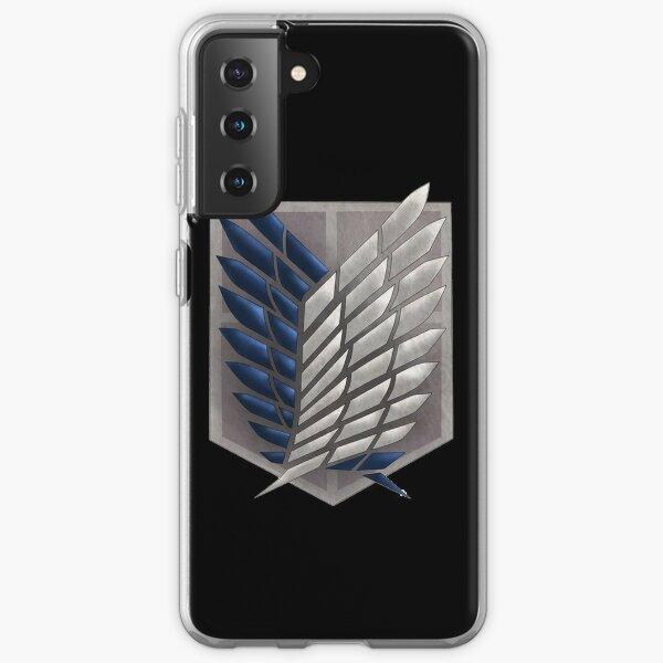 Shingeki No Kyojin - Exploration Battalion Coque souple Samsung Galaxy