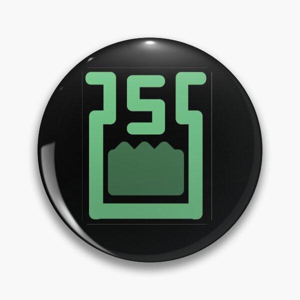Slime Logo Pin