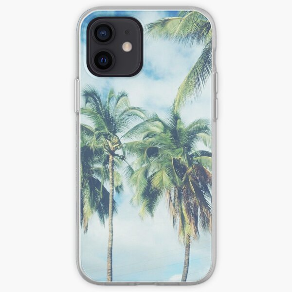 Palm Trees 2 iPhone Soft Case