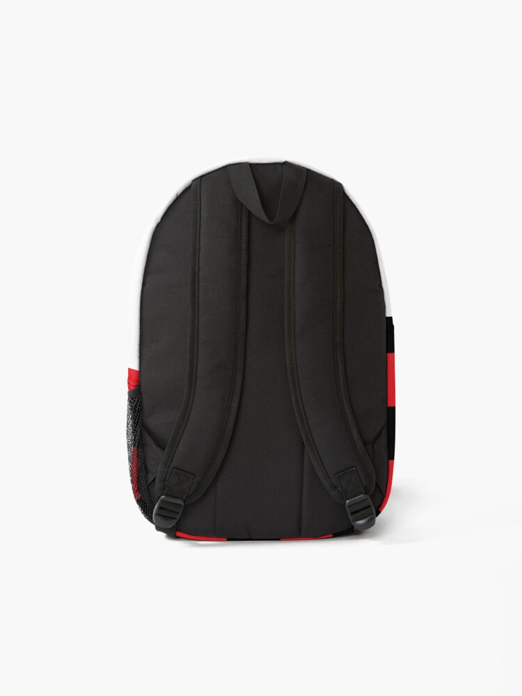 Alternate view of Checkered Red and Black   Backpack