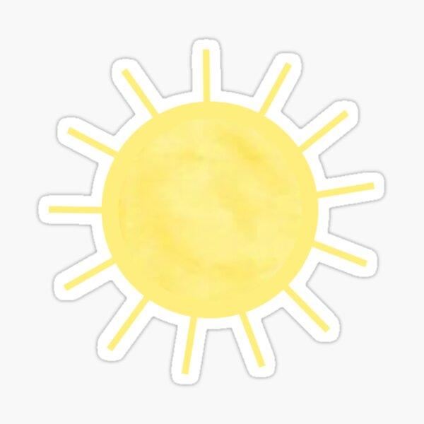 wenig Sonnenschein Sticker