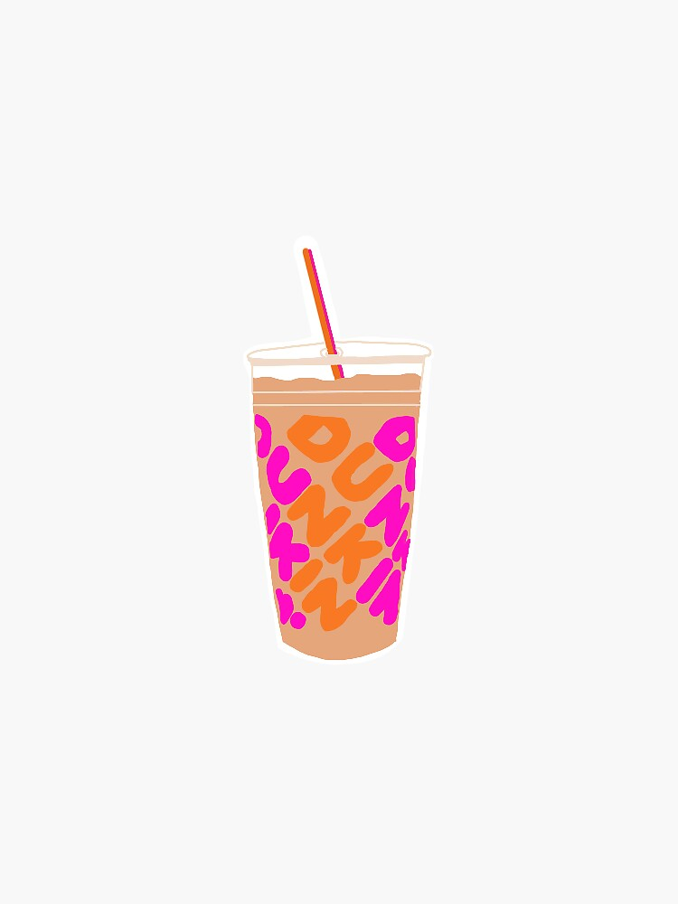 Dunkin Donuts cup by avaeliza14
