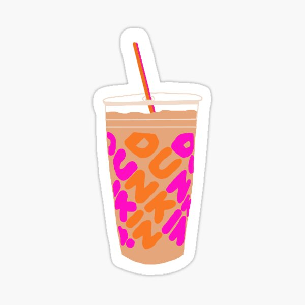 Dunkin Donuts cup Sticker