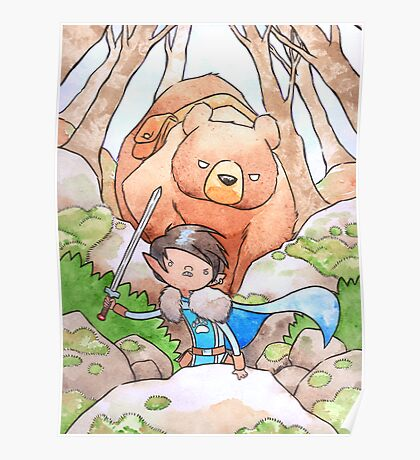 A Boy and his Bear Poster