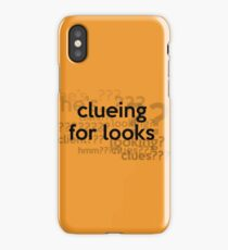 [Sherlock] - Clueing for Looks  iPhone Case/Skin
