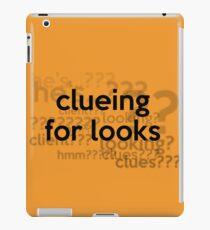 [Sherlock] - Clueing for Looks  iPad Case/Skin