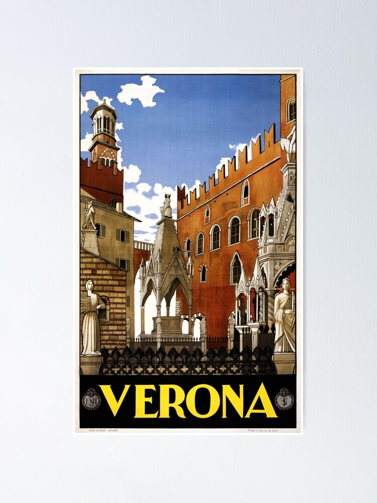 Vintage Italian Travel Art Print NEW POSTER Great Gift San Remo Italy