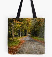 Summitville Mountain Road Autumn Tote Bag
