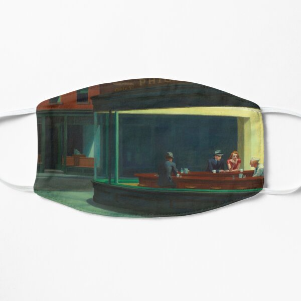 Edward Hopper - Nighthawks Mask